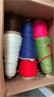 Box of yarn