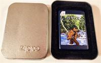 Zippo Camel Adv., fly fishing lighter - unused