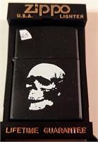 Zippo skull lighter - unused