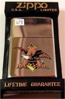Zippo Anheuser Busch Adv. lighter - unused
