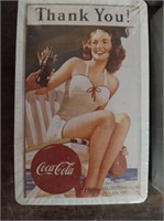(4) Coca-Cola Collectors Club card decks