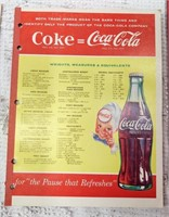 (6) Coca-Cola notebooks