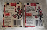 (5) Coca-Cola card decks