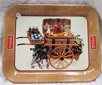 Coca-Cola market basket tray