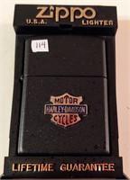 Zippo Harley Davidson Motorcycles lighter - unused