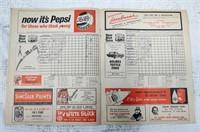 1962 LA Dodgers Official Program with scorecard