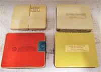 (4) Tin boxes of cigarettes