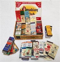 Apx. 300 matchbook covers from assorted states
