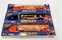 (3) NASCAR trailer rigs