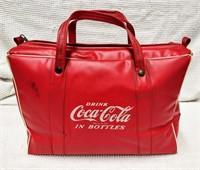vintage vinyl Coca-Cola cooler
