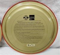 (2) Coca-Cola 75th Anniversary trays