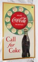 """27""""x16"""" Coca-Cola sign"""