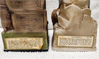 (2) 1969 Jeremiah Potts decanters