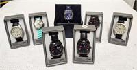 (7) wrist watches