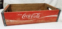 red Coca-Cola carrier