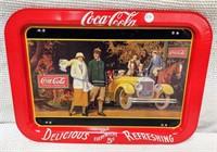 """1987 Coca-Cola tray """"Delicious, Refreshing"""""""