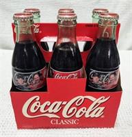 six pack Dale Earnhardt Jr. & Sr. Coke bottles