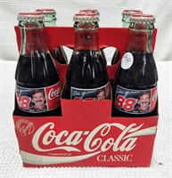 six pack Dale Jarrett Coca-Cola bottles