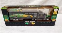 J.D. 1:64 Premier diecast transporter w/ stockcar