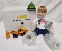 Danbury Mint Jake the J.D. construction doll