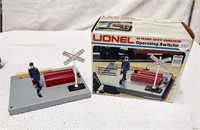 Lionel operating switch man
