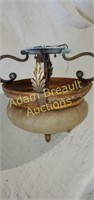 Decorative 12 in ceiling mount light fixture