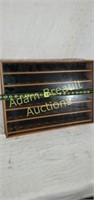 Wooden 60 golf ball display case