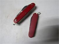 Pair Swiss Pocket Knives