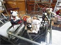 Boyds Bears, Miniature Furniture, Etc