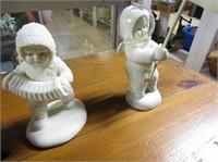 4 Snow Baby Figurines