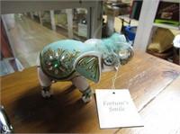 Porcelain Elephant Figurines