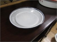 Enamel Pie Plates