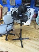 Super Adjustable Height Floor Fan