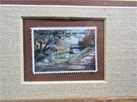Ken Zeylla Print W Comemorative Stamp