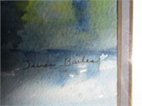 Signed Watercolor By June Bailes