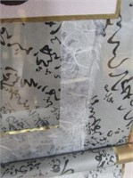 Signed Art Work  Partially On Silk