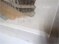 Signed Street Scene