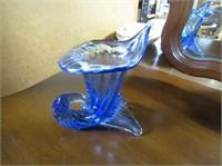 Cobalt Blue Petal Vase