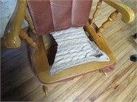 Maple Rocker With Cushion