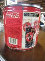 Coca Cola Tin Piggy Bank