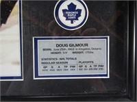 Doug Gilmore Framed Stats