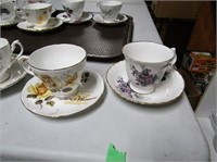 Selection Cups & Saucers