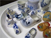 Delft Pottery & Wooden Shoes