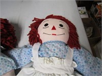Original Raggedy Ann & Andy Dolls