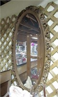 Bevelled Glass Hanging Mirror