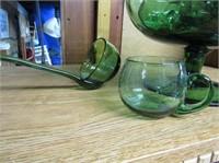 Punchbowl Set W Glass Ladel