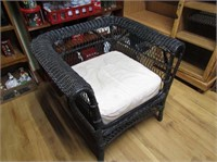Great Victorian Wicker Arm Chair
