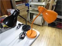 Pair Desk Lamps