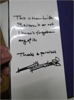 Signed Keith Richard's Life Book