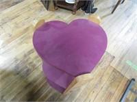 Heart Shaped Shelf Unit